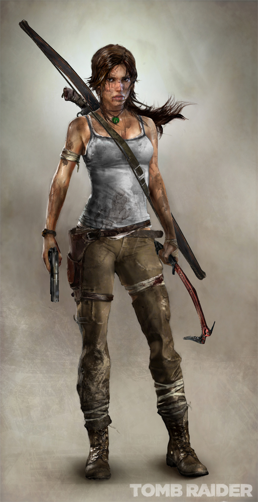 Lara Croft - 2011 version