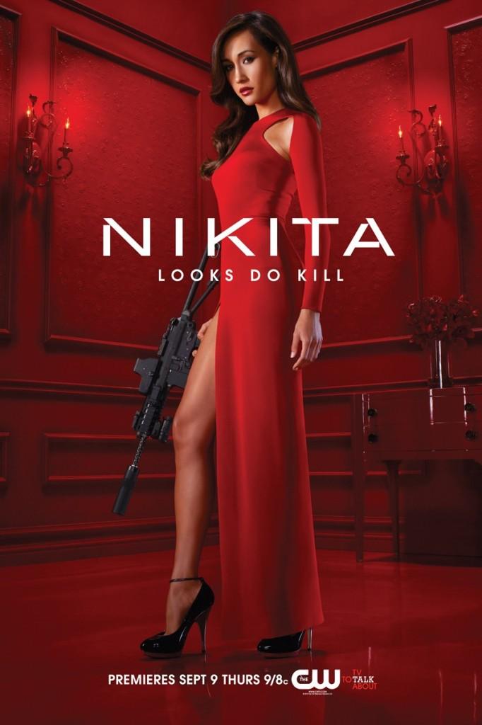 Maggie Q in Nikita