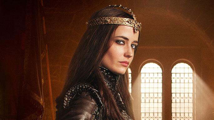 Eva Green as Morgana in Camelot