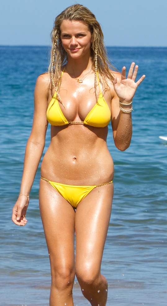 Brooklyn Decker in a swimsuit bikini