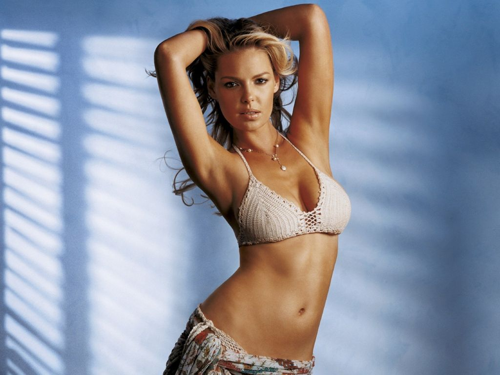 Katherine Heigl in swimwear
