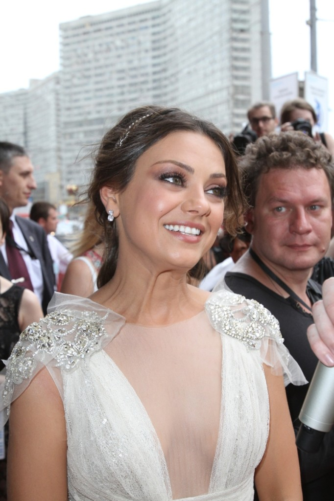 Mila Kunis at the Russian premiere of Friends with Benefits