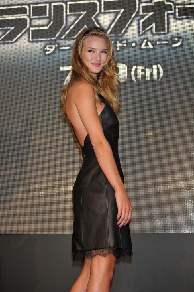 Rosie Huntington-Whiteley in Japan