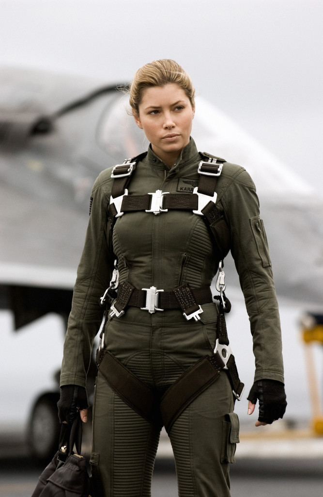 Jessica Biel in Stealth