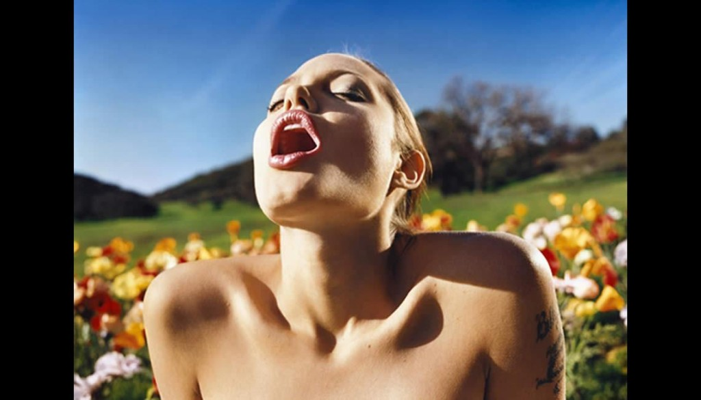 Angelina Jolie Lusty Spring by David LaChapelle
