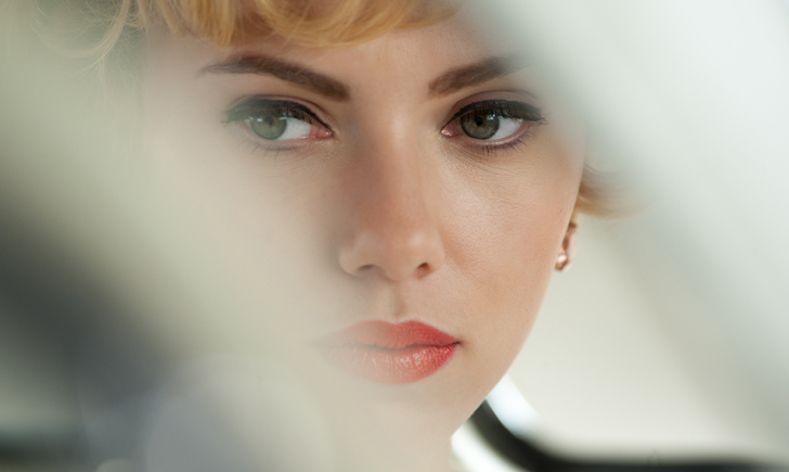 Scarlett Johansson in Hitchcock