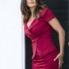 Roxanne Feder (Salma Hayek) in her boutique in Columbia Pictures' GROWN UPS 2.