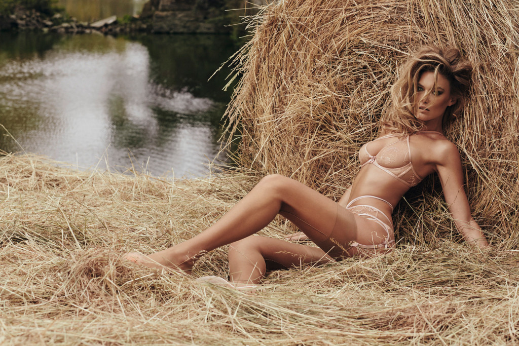 Bar Refaeli for Agent Provocateur
