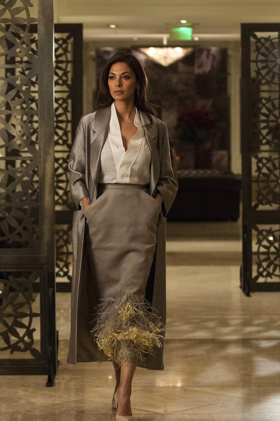 """Moran Atias in """"The Awful Grace of God."""" Tyrant Season 2"""